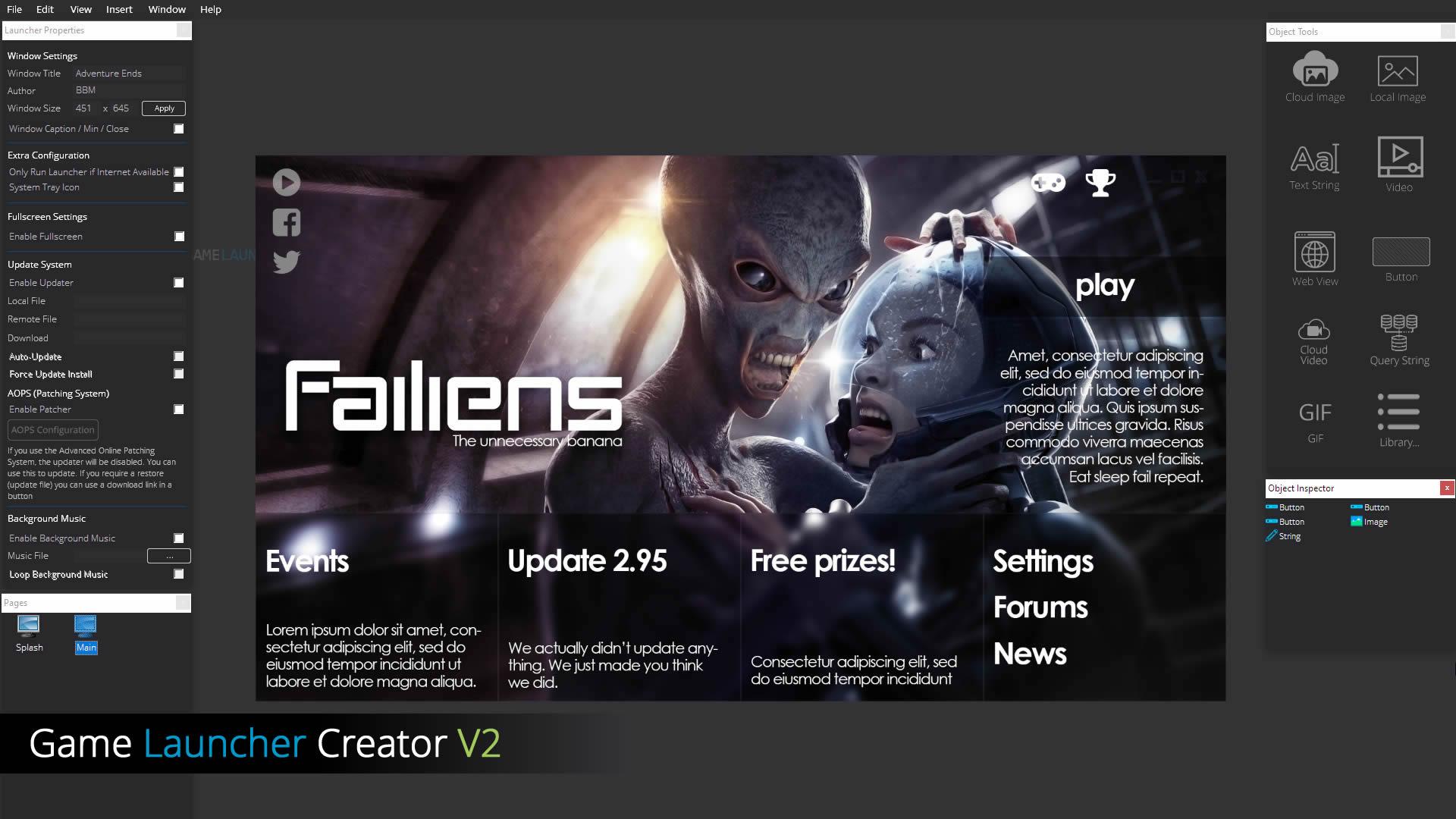 Game Launcher Creator V2 Standard Pro Editions Official Thread Gameguru Forum
